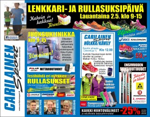 JUOKSUKLINIKKA 2015